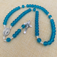 Load image into Gallery viewer, Aquatic Blue Rosary