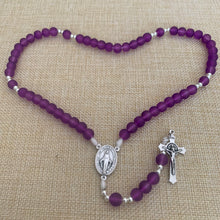 Load image into Gallery viewer, Violet Purple Rosary