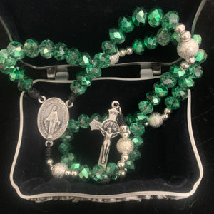Emerald Green Rosary