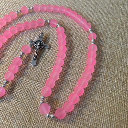 Rose Pink Rosary