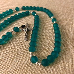 Turquoise Green Rosary