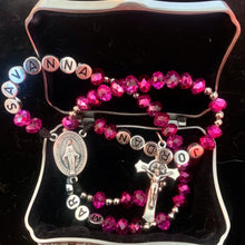 Load image into Gallery viewer, Personalized Inspirational Rosary