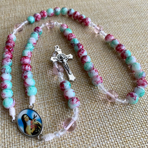 Children's Cotton Candy Rosary
