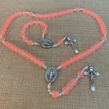 Load image into Gallery viewer, Soft Peach Rosary