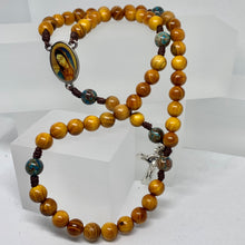 Load image into Gallery viewer, Guadalupe Wood Rosary