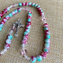 Load image into Gallery viewer, Children's Cotton Candy Rosary