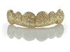 Nine Diamond Hand Setting Gold Grillz [HS 003]