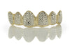 Two Tone Box Diamond Cut Grillz [SG 010]