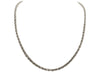 10K White Gold Rope Chain - 4MM