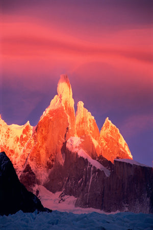 Cerro Torre at sunset, Patagonia