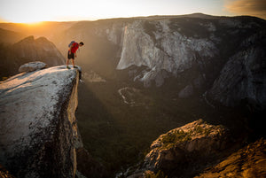 Alex Honnold, Taft Point, Yosemite, CA