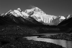 The North Face of Mt. Everest
