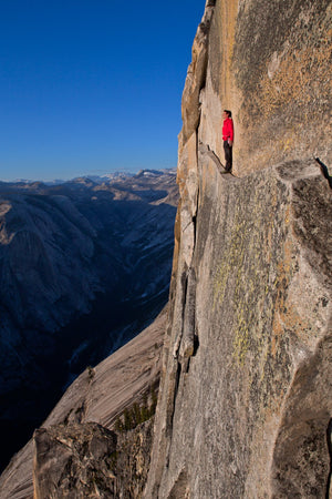 Alex Honnold, Thanks God Ledge, Half Dome