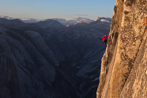 Alex Honnold Free Soloing Half Dome