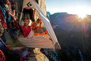 Tommy Caldwell and Kevin Jorgeson on the Dawn Wall, Yosemite, CA