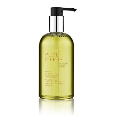 Pure Herbs Hair & Body shampoo 300ml doos à 24 stuks