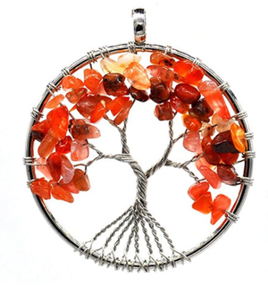 שרשרת קבלה עץ החיים דגם  Tree of life Kabbalah Necklace model 181834 - ME by April