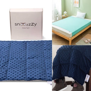 Weighted Lap Pad and Sensory Bedsheet (double bed)
