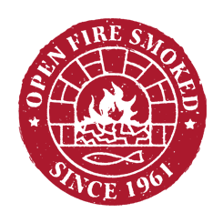Open Fire Smoke Since 1961