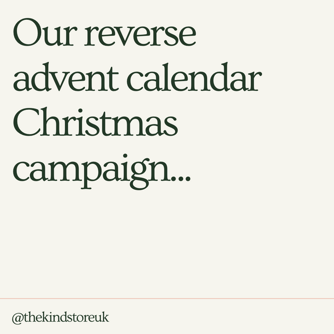 Our Reverse Advent Calendar Christmas Campaign