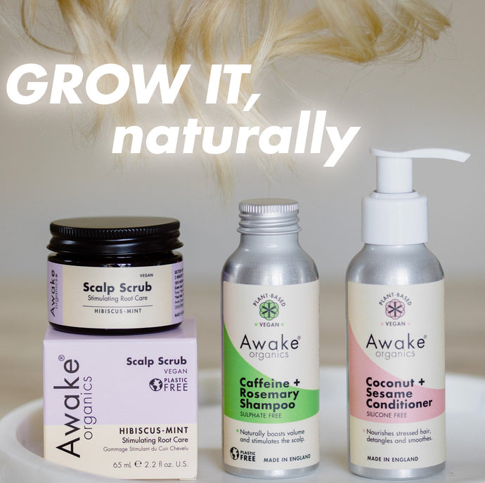 Natural Hair Growth In Three Simple Steps