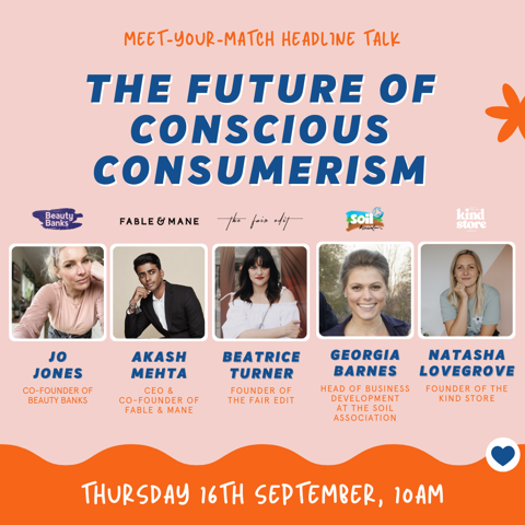 the future of conscious consumerism meet your match tradeshow y curate beauty