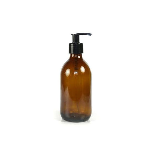 250ml amber glass pump bottle the kind store