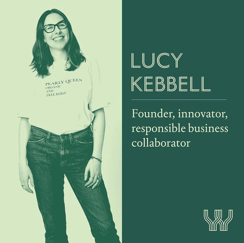 lucy kebbell founder of the vendeur and the WIP.