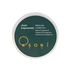 natural rejuvenating and balancing conditioner in an aluminium tub by ksoni.