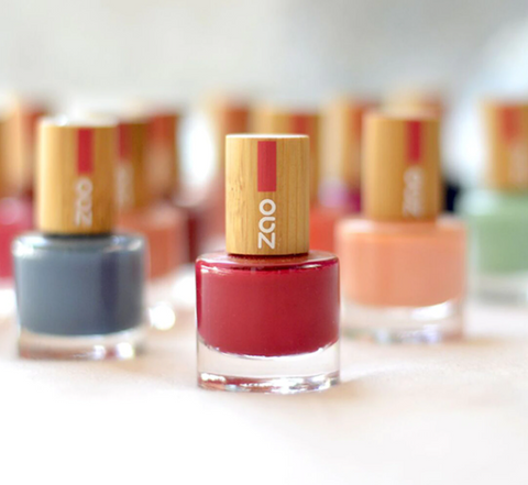 vegan and natural nail polishes.