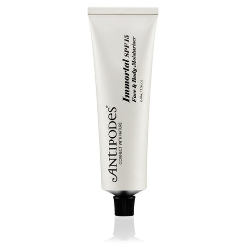antipodes spf 15 face and body moisturiser
