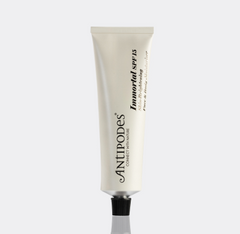 spf 15 by antipodes natural sun protection face moisturise rin tube.