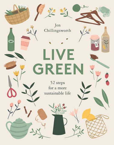 front cover of the live green book.
