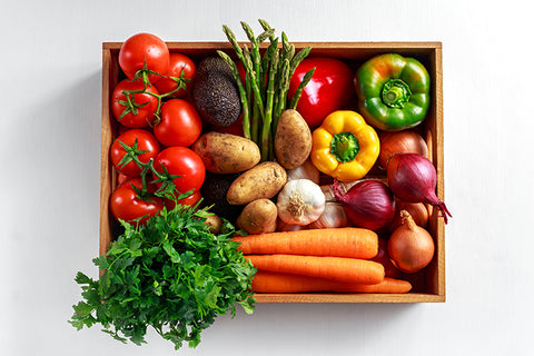 organic fruit and vegetable box online.