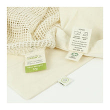 Load image into Gallery viewer, A Slice of Green All Products Organic Cotton Grocery Bag