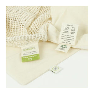 A Slice of Green All Products Organic Cotton Grocery Bag