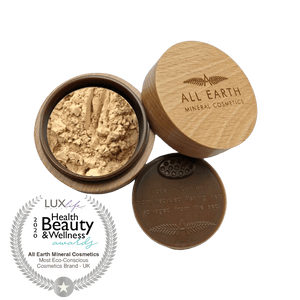 All Earth Mineral Cosmetics All Products Beechwood 4g Mineral Finishing Powder