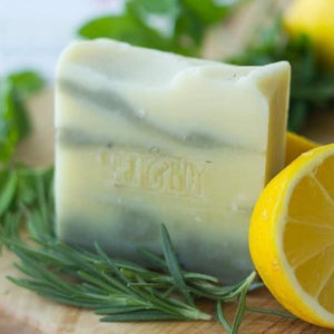 Bean & Boy All Products Lemon & Herb Natural Soap