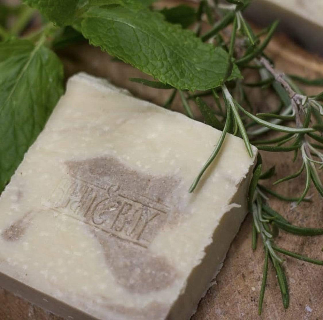 Bean & Boy All Products Spearmint & Rosemary Natural Soap