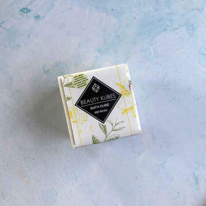 Beauty Kubes All Products Beauty Kube Bath Kube Bath Bomb - Refresh
