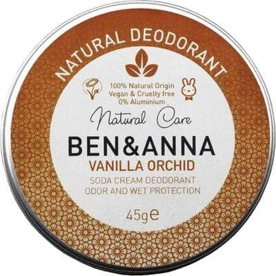 Ben & Anna All Products Vanilla Orchid Natural Deodorant Cream