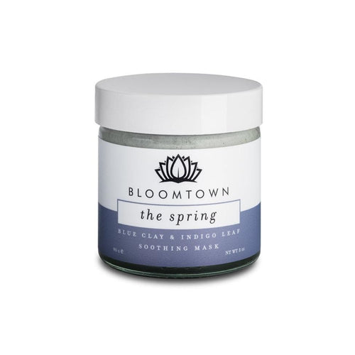 Bloomtown All Products Blue Clay Face Mask - The Spring