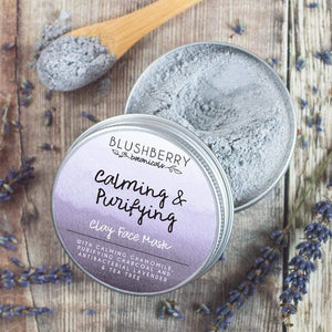 Blushberry Botanicals All Products Calming & Purifying Clay Face Mask 24g