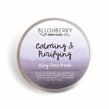 Load image into Gallery viewer, Blushberry Botanicals All Products Calming & Purifying Clay Face Mask 24g