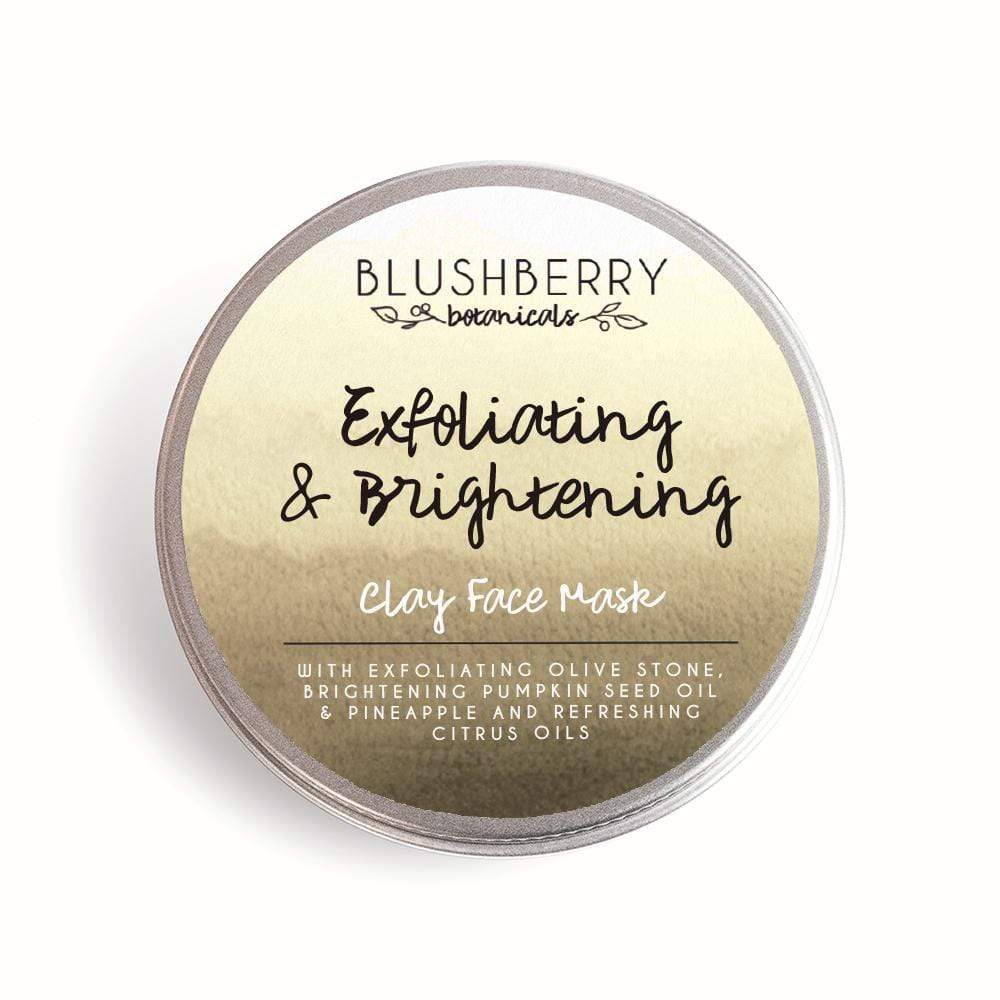 Blushberry Botanicals All Products Exfoliating & Brightening Clay Face Mask 24g