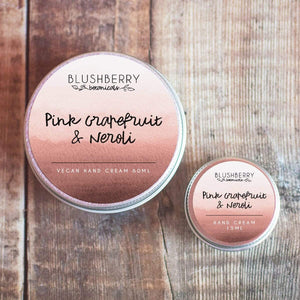Blushberry Botanicals All Products Mini Pink Grapefruit & Neroli Hand Cream 15ml