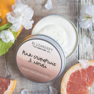 Blushberry Botanicals All Products Pink Grapefruit & Neroli Hand Cream 60ml