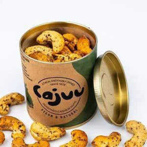 Cajuu All Products Lake Natron Salt & Pepper Cashew Nuts in Tube