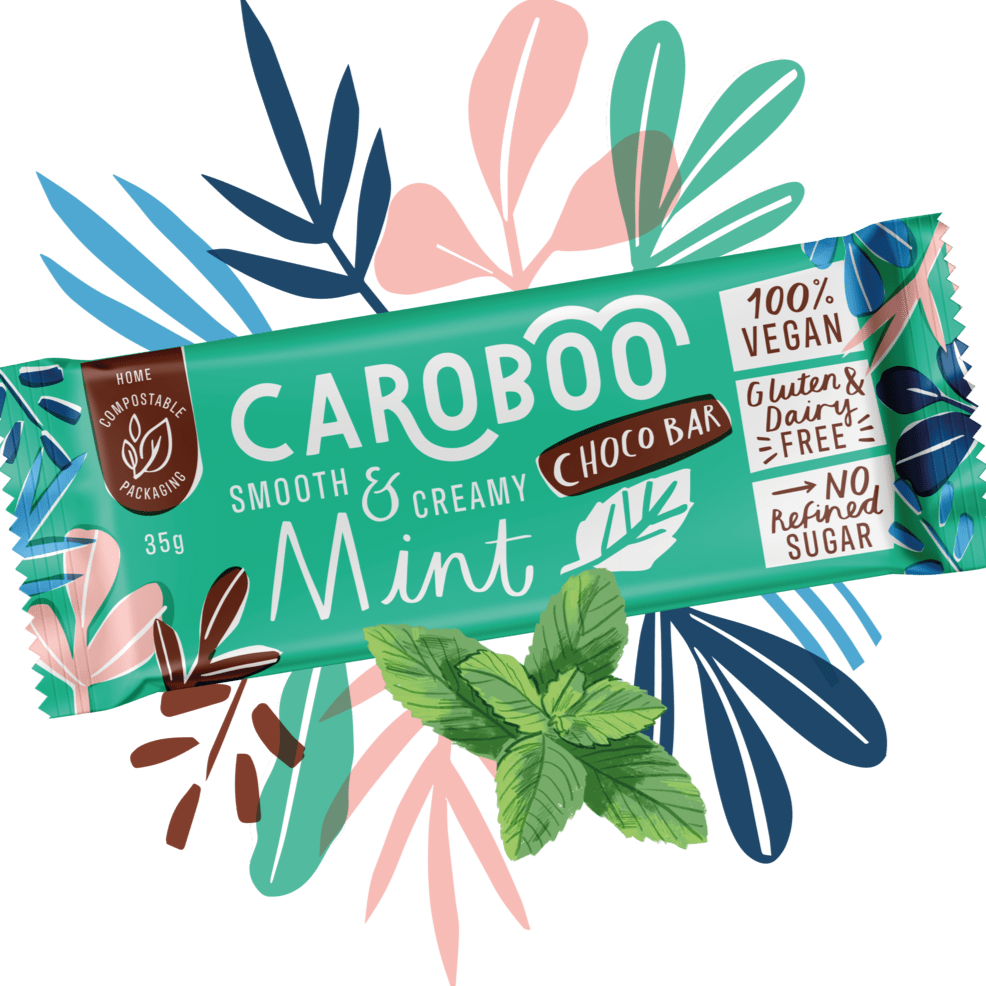 Caroboo All Products Mint Choco Bar