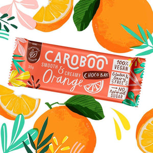 Caroboo All Products Orange Choco Bar